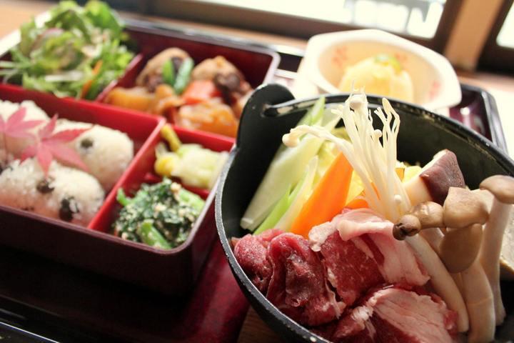 田代の郷土料理定食